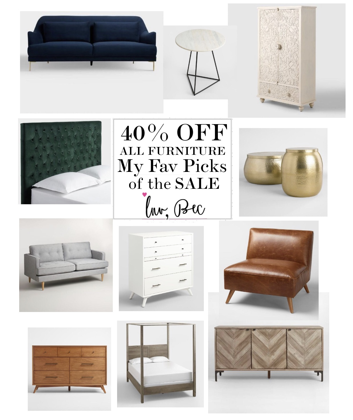 My Top Picks From The World Market Furniture Sale Luv Bec